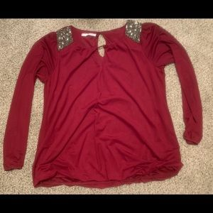 Maurice's long sleeve top size 1